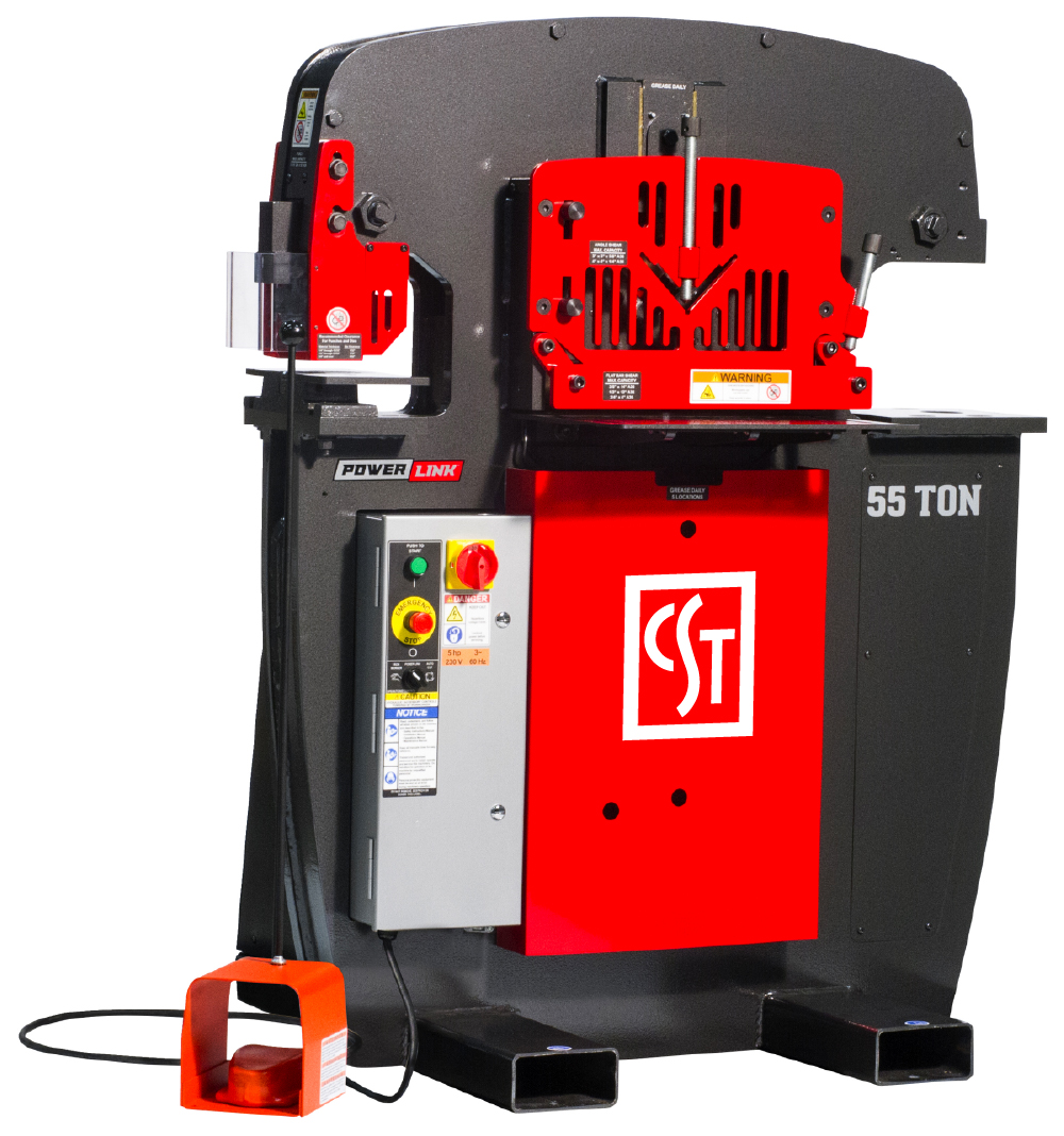 CST 55 Ton Ironworker