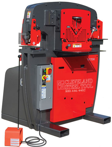 CST 75 Ton Ironworker